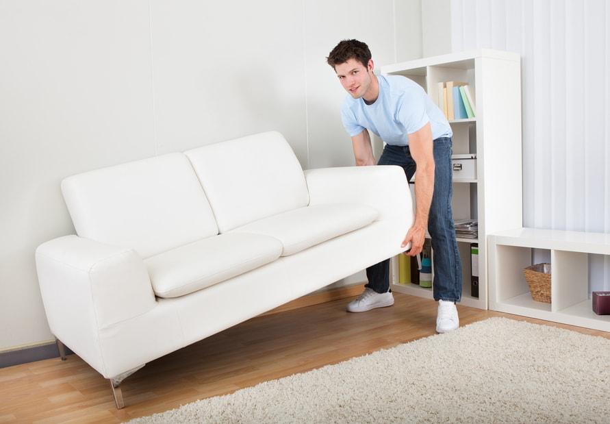 Перестановка мебели в квартире с грузчиками