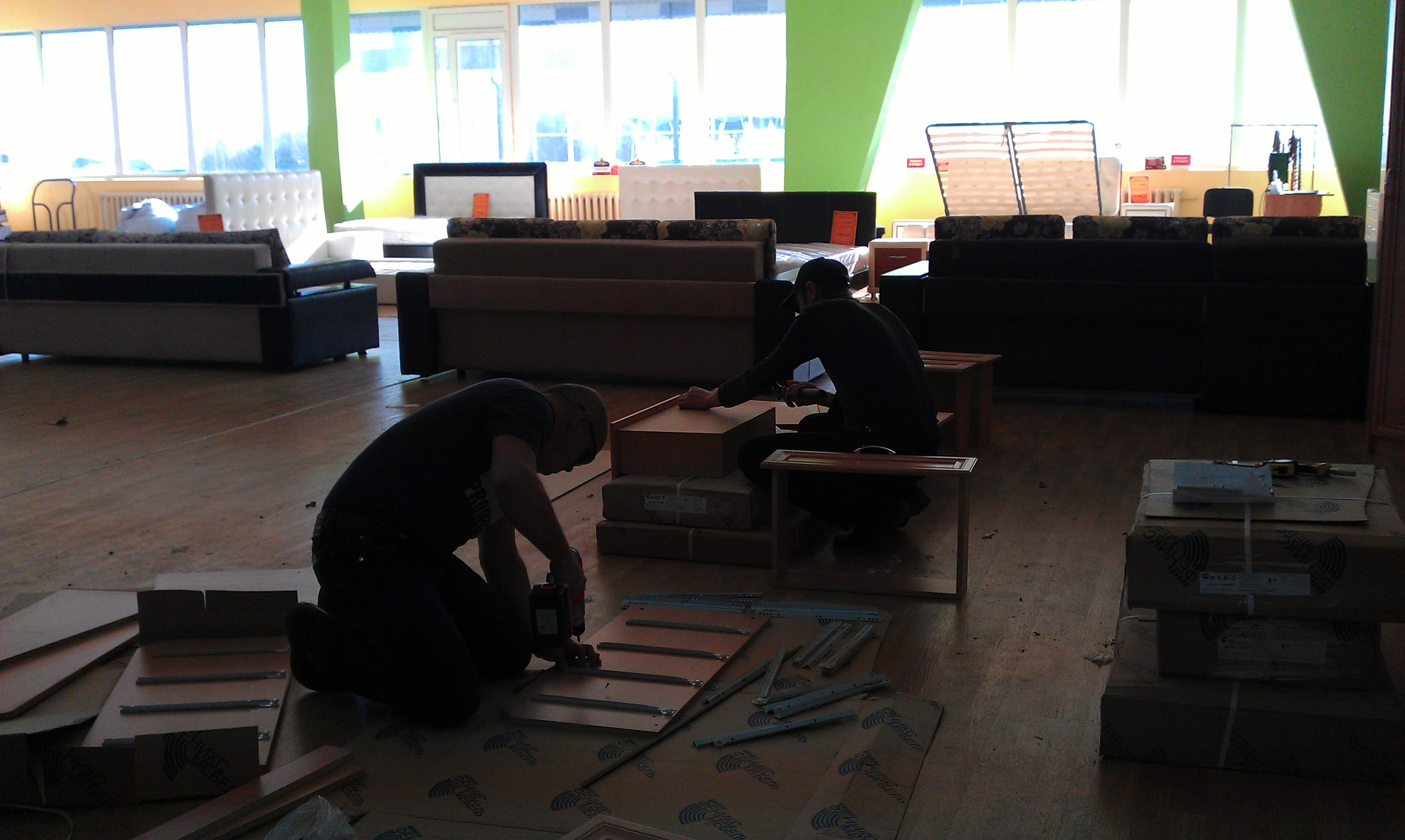 Перевезем мебель, разберем и соберем дешево